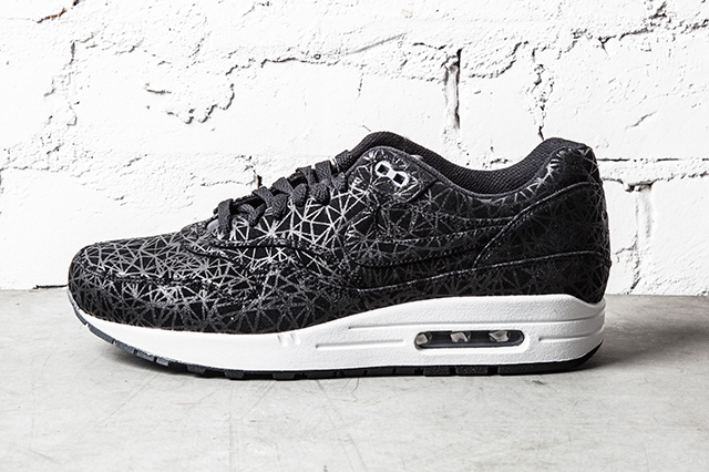 NIKE AIR MAX 1 PREMIUM GEOMETRIC BLACK 2