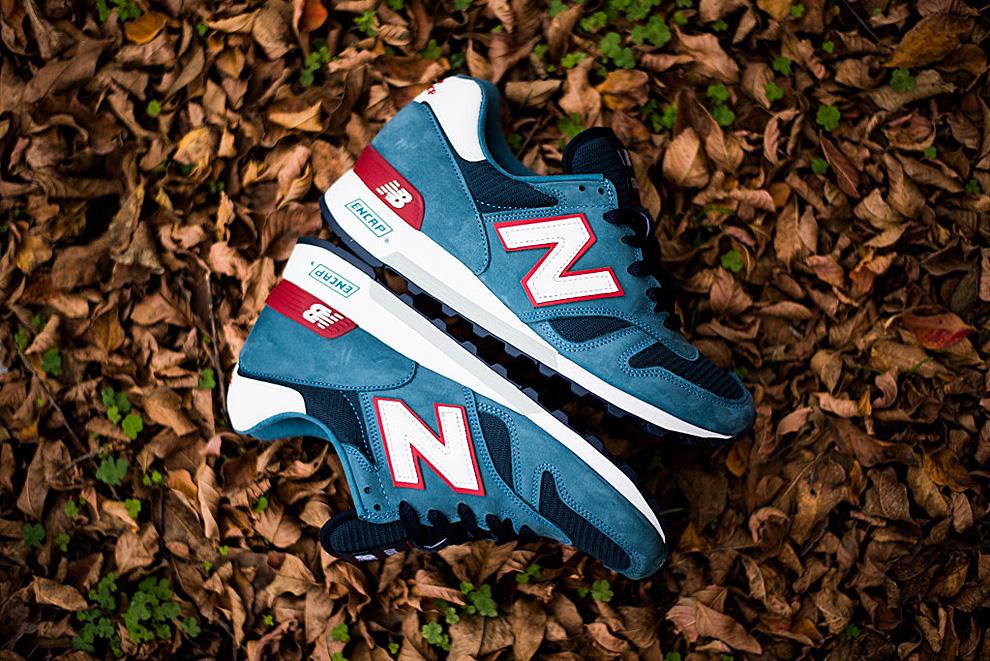 New Balance 1300 Medium Blue Navy Red 6