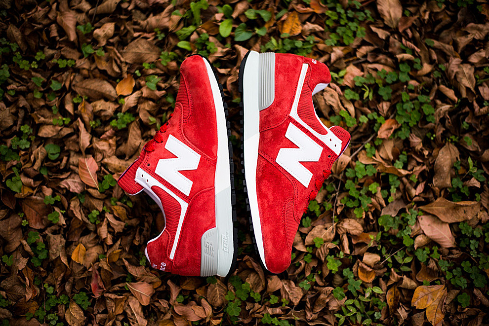 New Balance 576 Red White 1