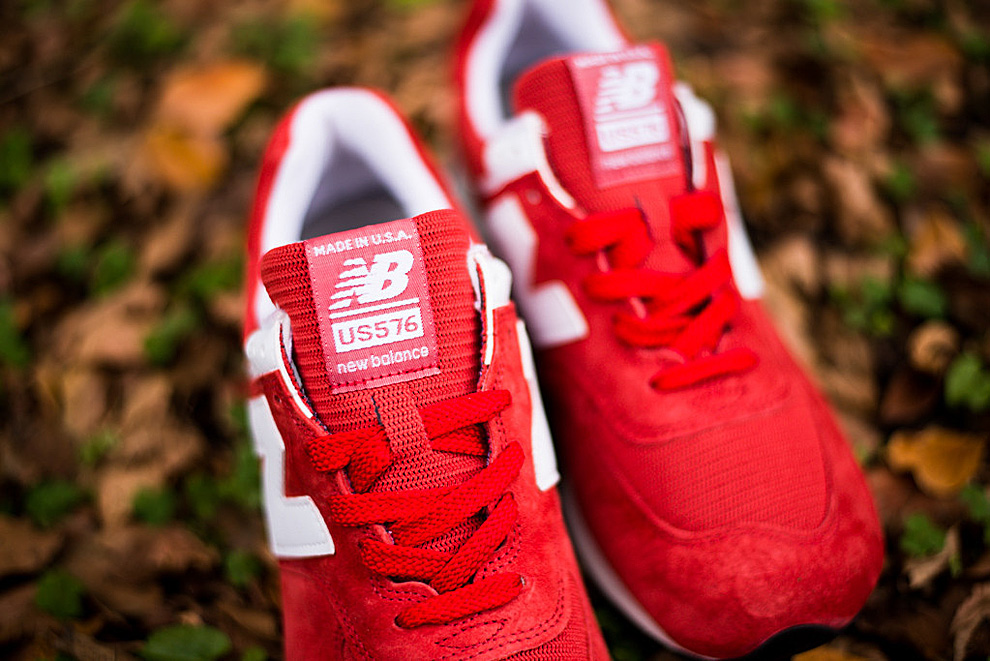 New Balance 576 Red White 5