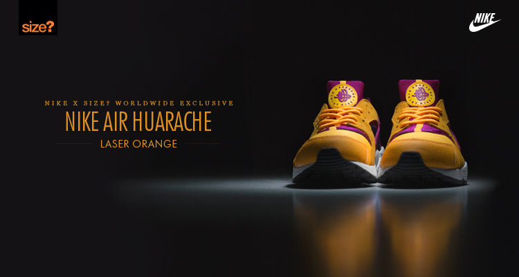 Nike Air Huarache Laser Orange–size Worldwide exclusive 1