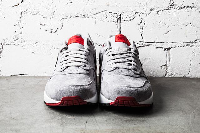 Nike Air Max 1 Premium–Grey Red 1