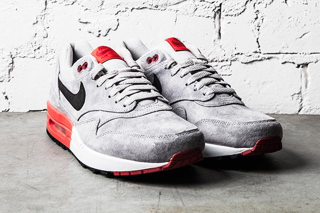 Nike Air Max 1 Premium–Grey Red 2