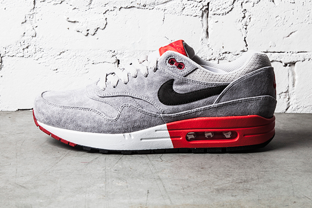 Nike-Air-Max-1-Premium–Grey-Red-4