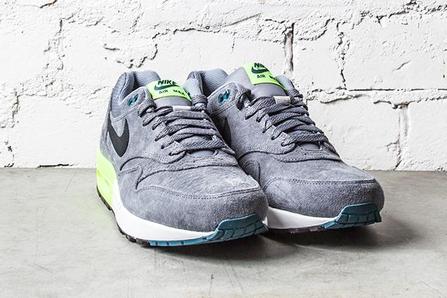 Nike Air Max 1 Premium Grey Volt 3