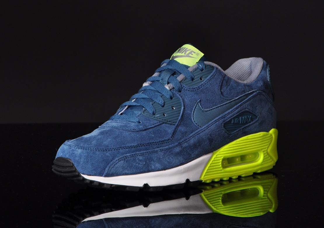 Nike Air Max 90 Premium–Blue Suede 4