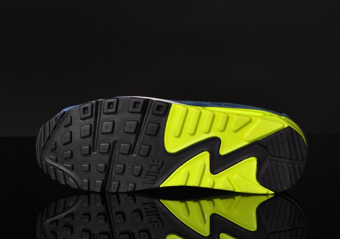 Nike Air Max 90 Premium–Blue Suede 7