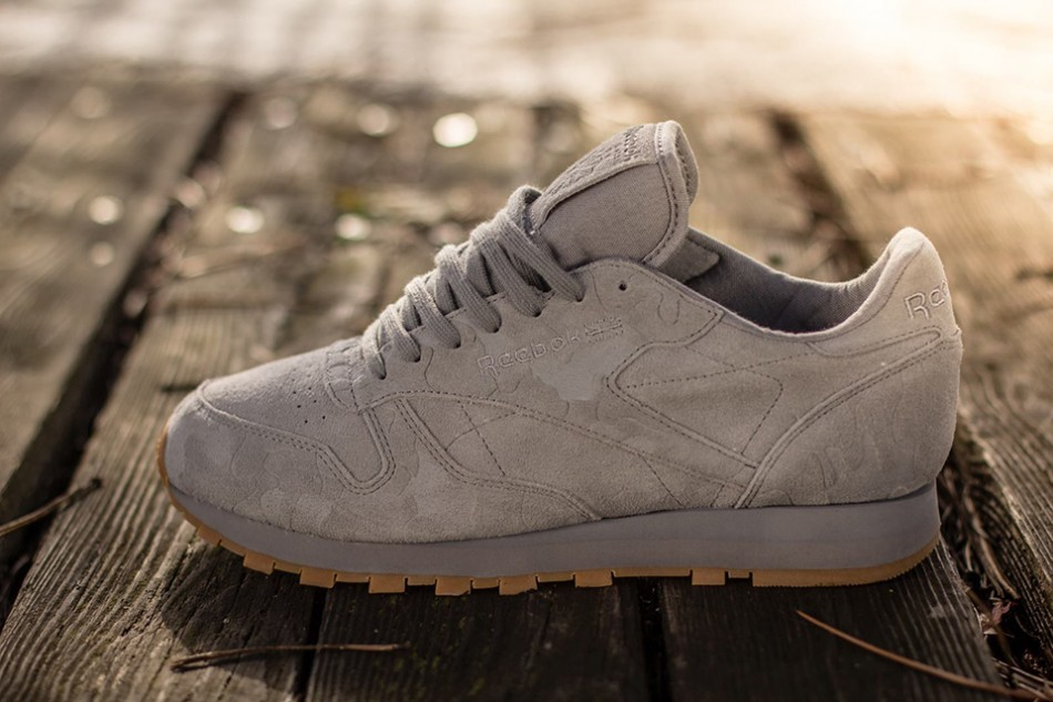 "Reebok Classic Leather 2013 ""Embossed Camo"" Pack 4"