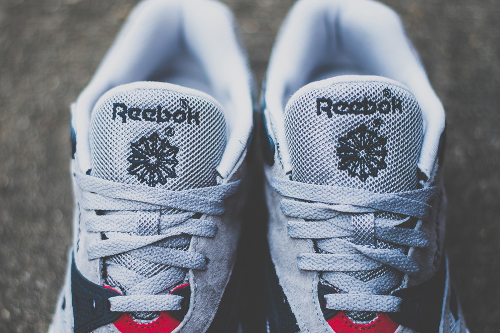 Reebok Sole Trainer Grey Navy Red 5