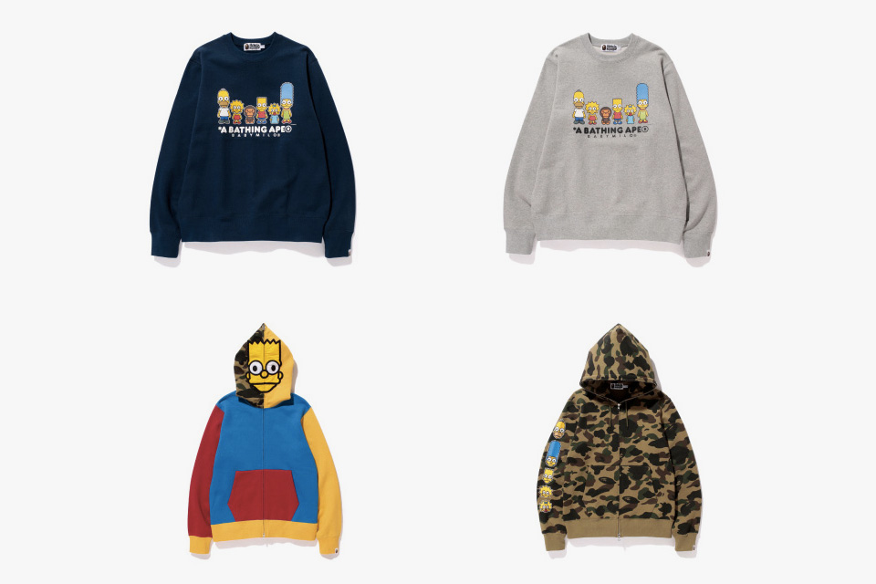 The Simpsons x A BATHING APE Baby Milo Capsule Collection 2