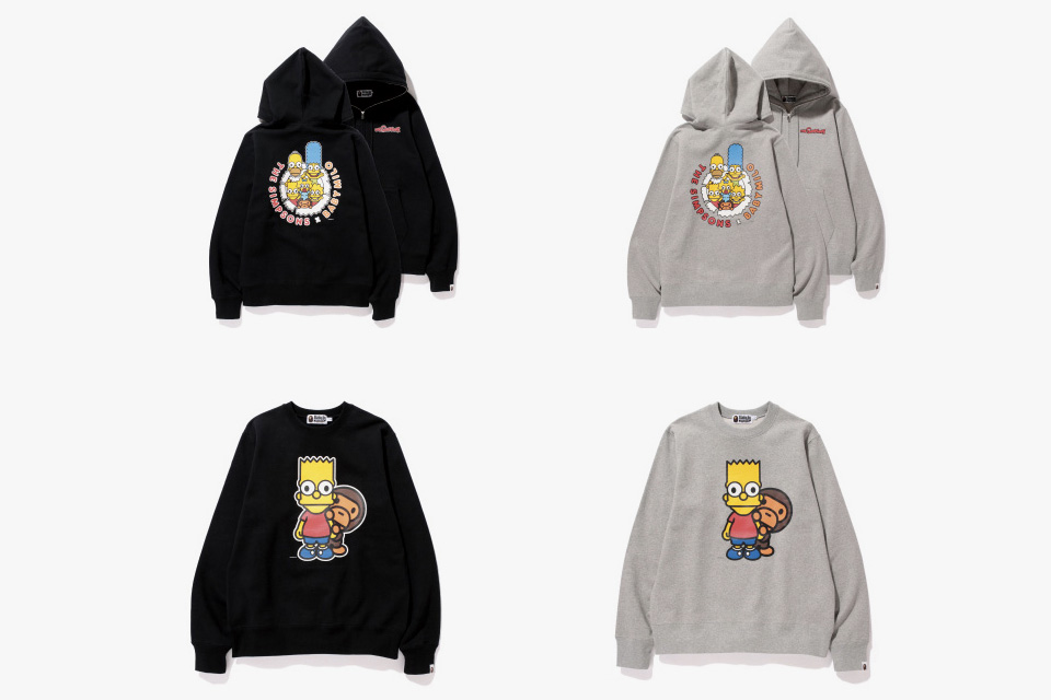 The Simpsons x A BATHING APE Baby Milo Capsule Collection 3