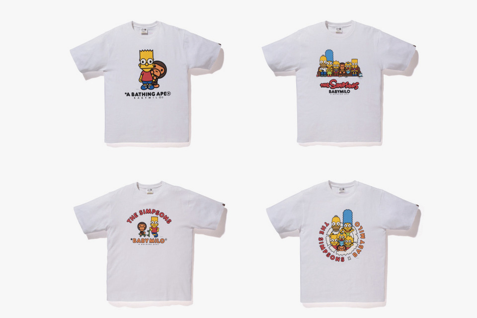 The Simpsons x A BATHING APE Baby Milo Capsule Collection 4