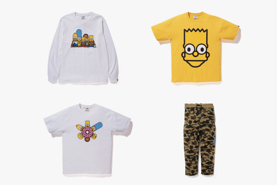 The Simpsons x A BATHING APE Baby Milo Capsule Collection 5