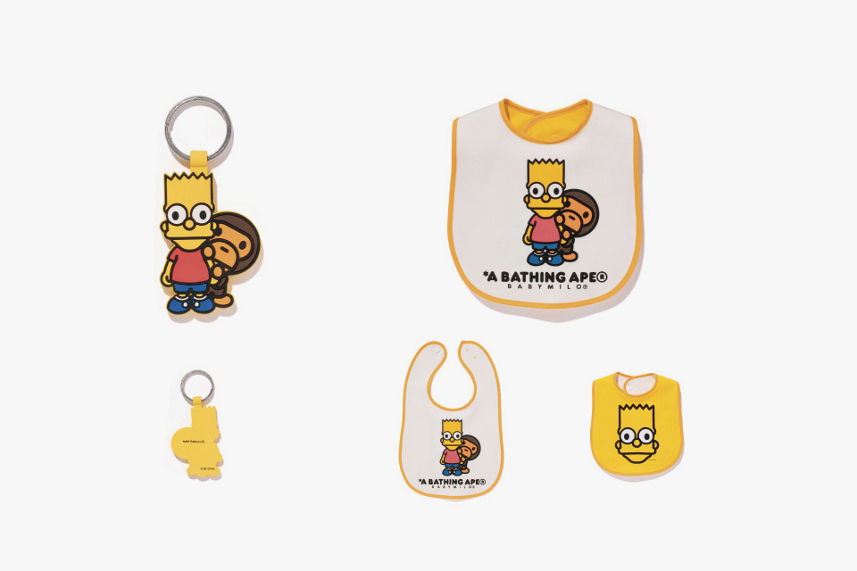 The Simpsons x A BATHING APE Baby Milo Capsule Collection 7