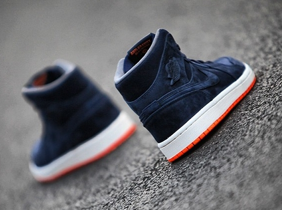 air jordan 1 mid navy orange 02