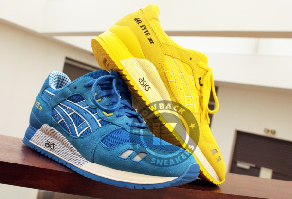 asics summer suede pack collection 2014 15
