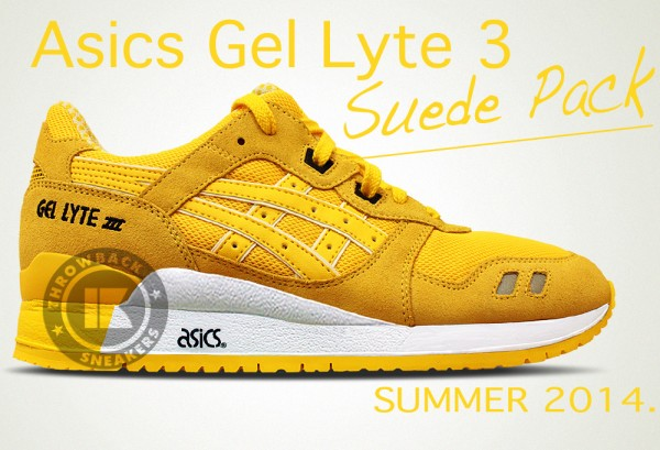 asics summer suede pack collection 2014 2