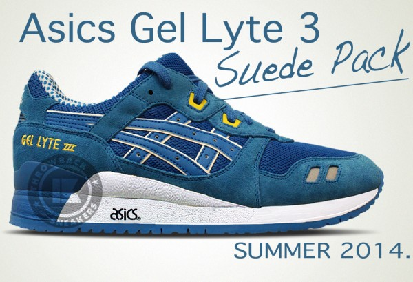 asics summer suede pack collection 2014 3