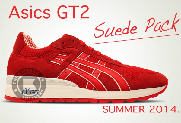 asics summer suede pack collection 2014 4