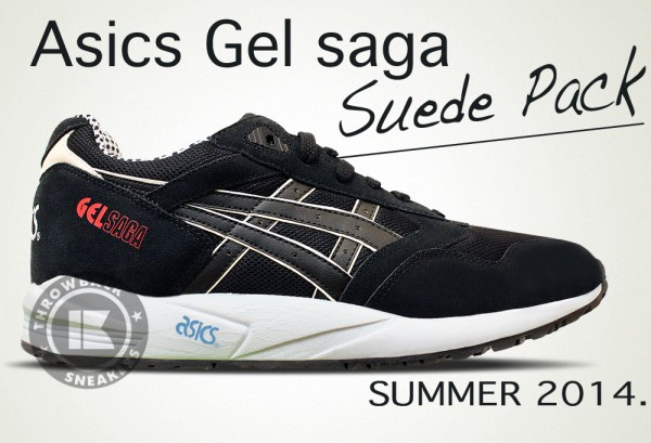 asics summer suede pack collection 2014 5