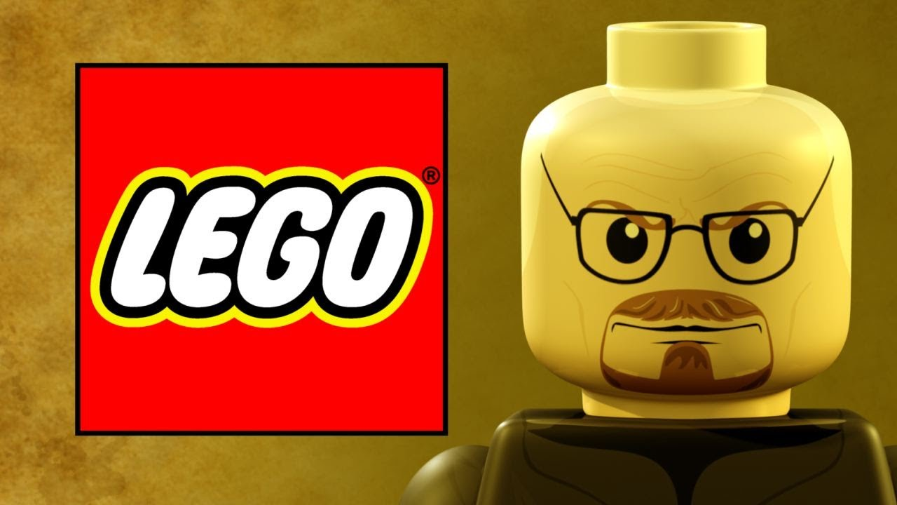 lego breaking bad video game parodie