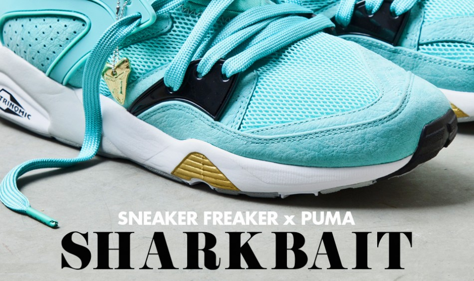 """Sneaker Freaker x Puma - """"Sharkbait"""" Blaze Of Glory"""