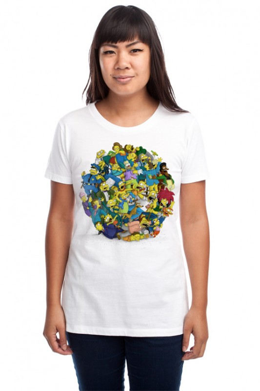 threadless the simpsons 17 533x800