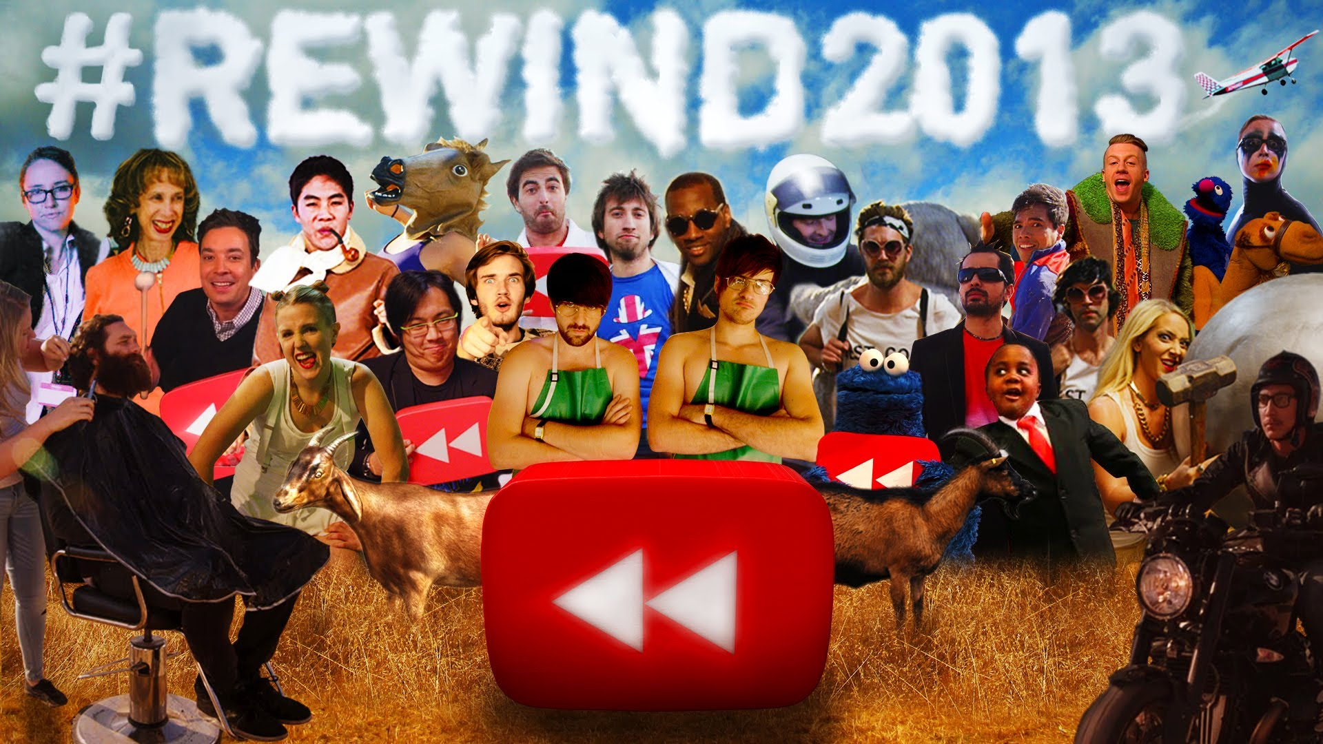 youtube rewind 2013 say