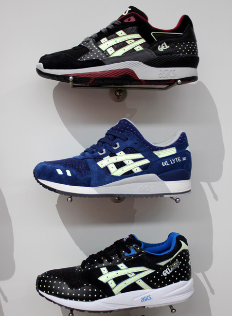 "Asics Gel Fall 2014 ""Glow in the Dark"" Pack 1"