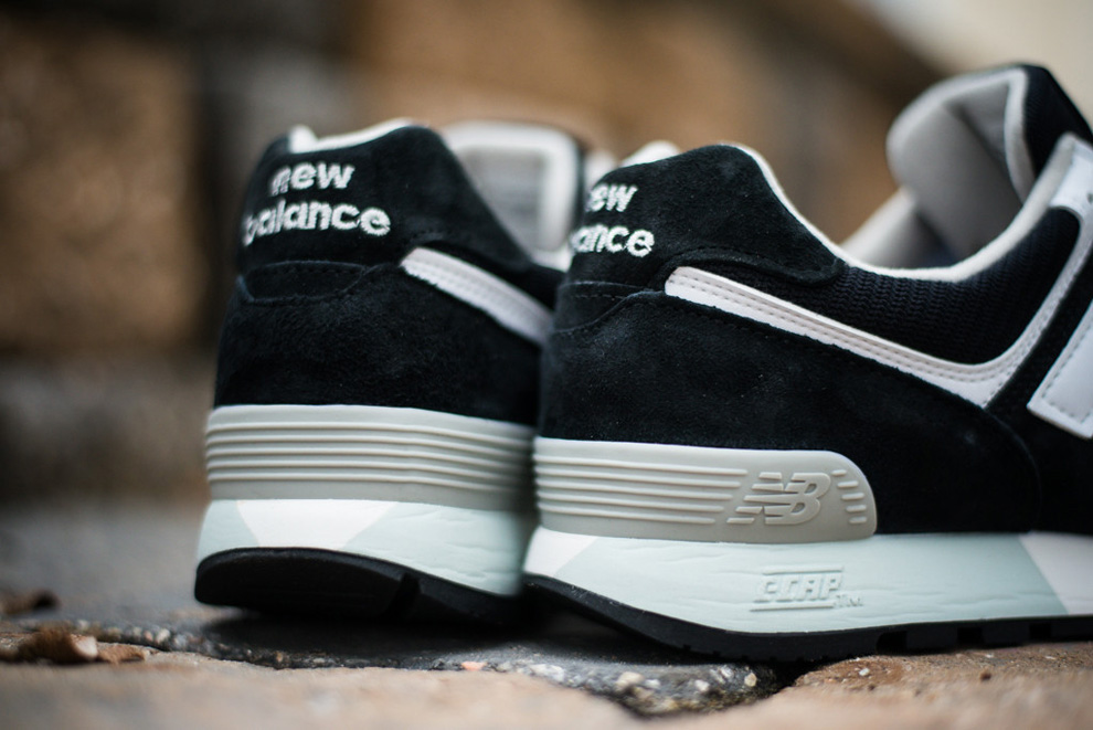 New Balance 576 Black White Suede Pack 2