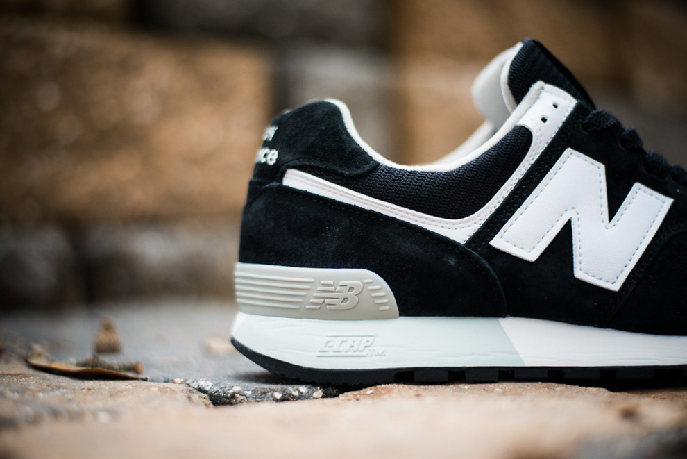 New Balance 576 Black White Suede Pack 3