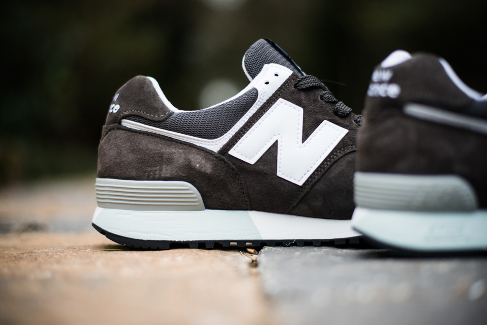 New Balance 576 Charcoal Suede Pack 2