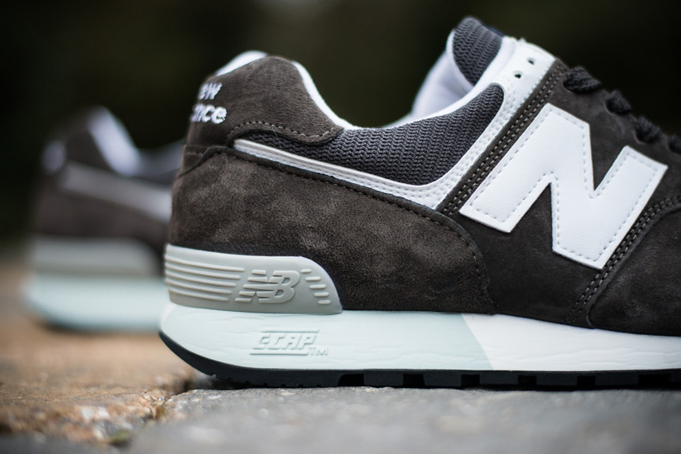 New Balance 576 Charcoal Suede Pack 3