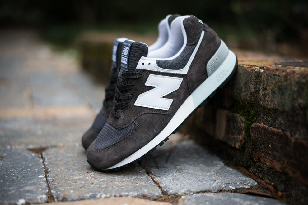 New Balance 576 Charcoal Suede Pack 7