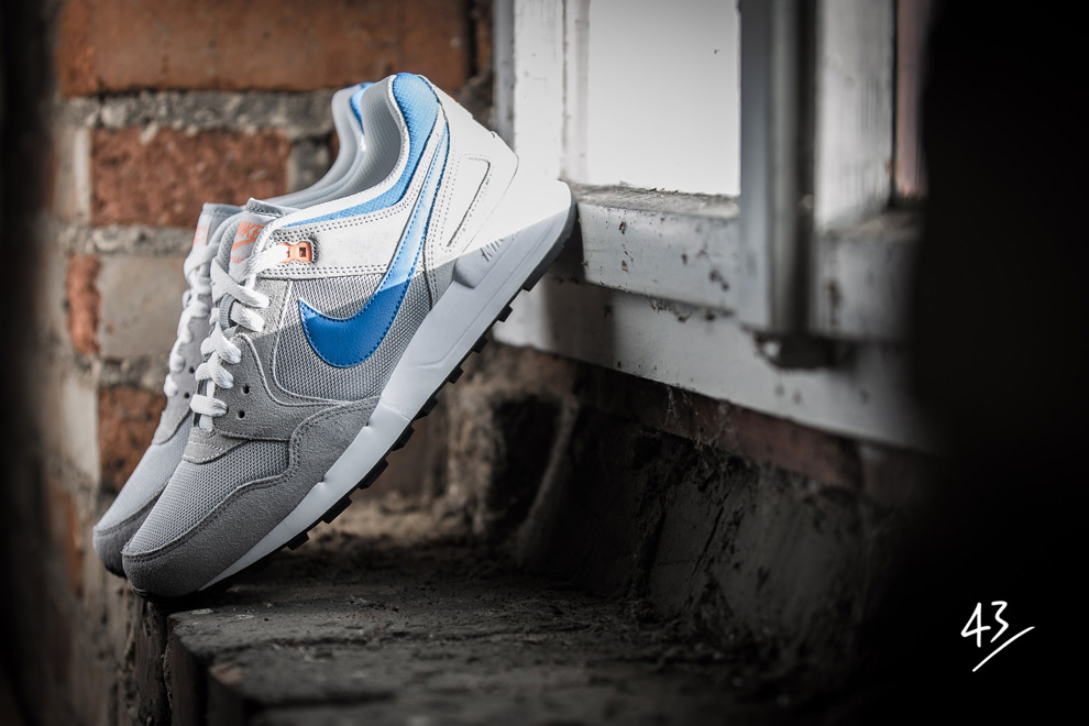 Nike Air Pegasus 89 Grey Photo Blue Atomic Orange 1