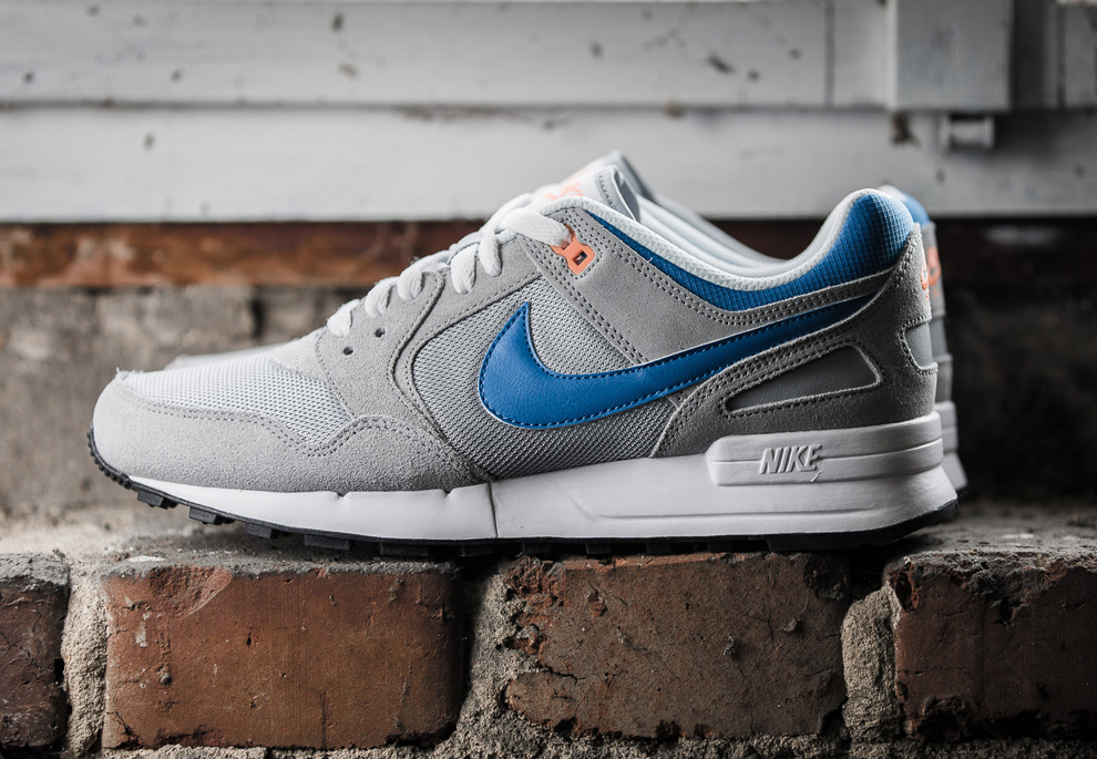 Nike Air Pegasus 89 Grey Photo Blue Atomic Orange 2
