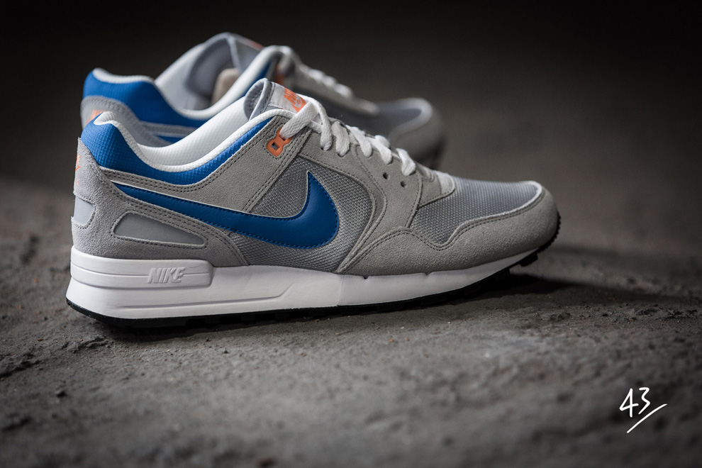 Nike Air Pegasus 89 Grey Photo Blue Atomic Orange 4