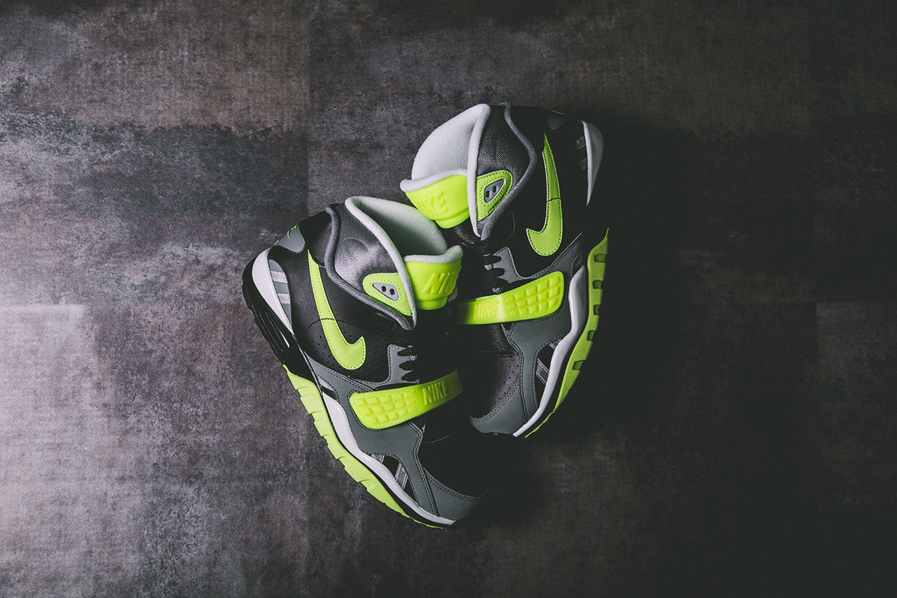 Nike Air Trainer SC II Black Volt Cool Grey 1