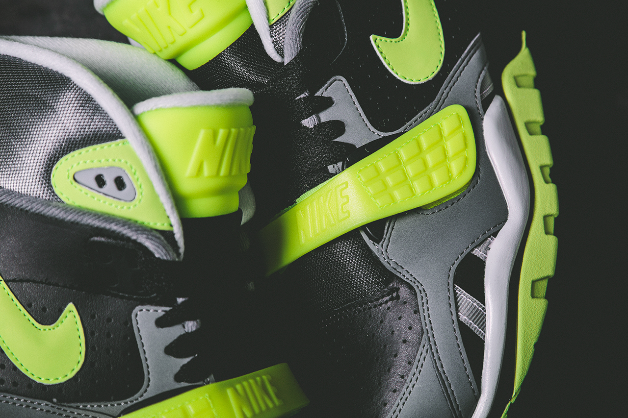 Nike Air Trainer SC II Black Volt Cool Grey 2