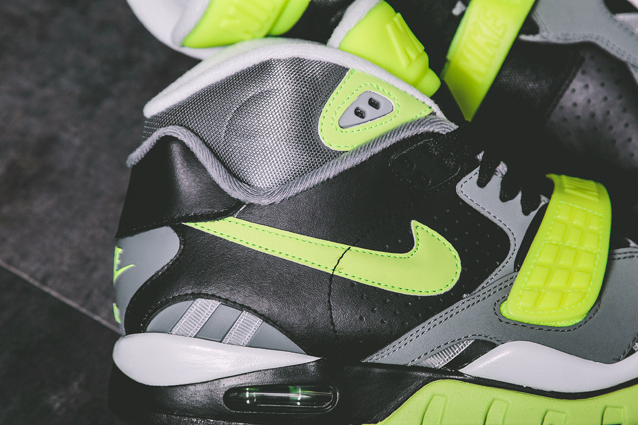 Nike Air Trainer SC II Black Volt Cool Grey 3