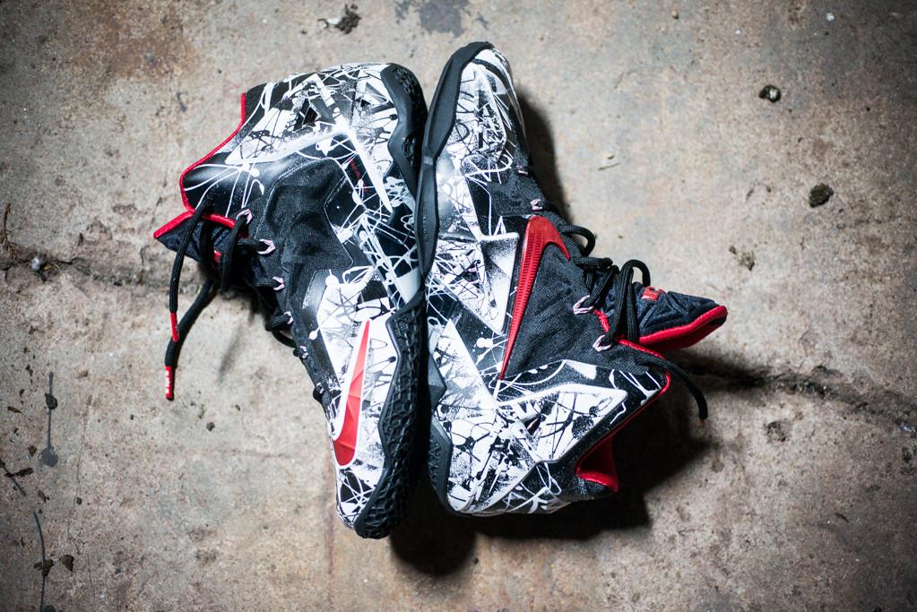 Nike LeBron 11–Graffiti Release 4