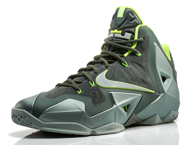 Nike Lebron 11 Mica Green 1