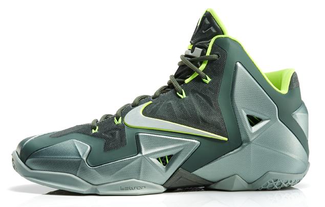 Nike Lebron 11 Mica Green 4