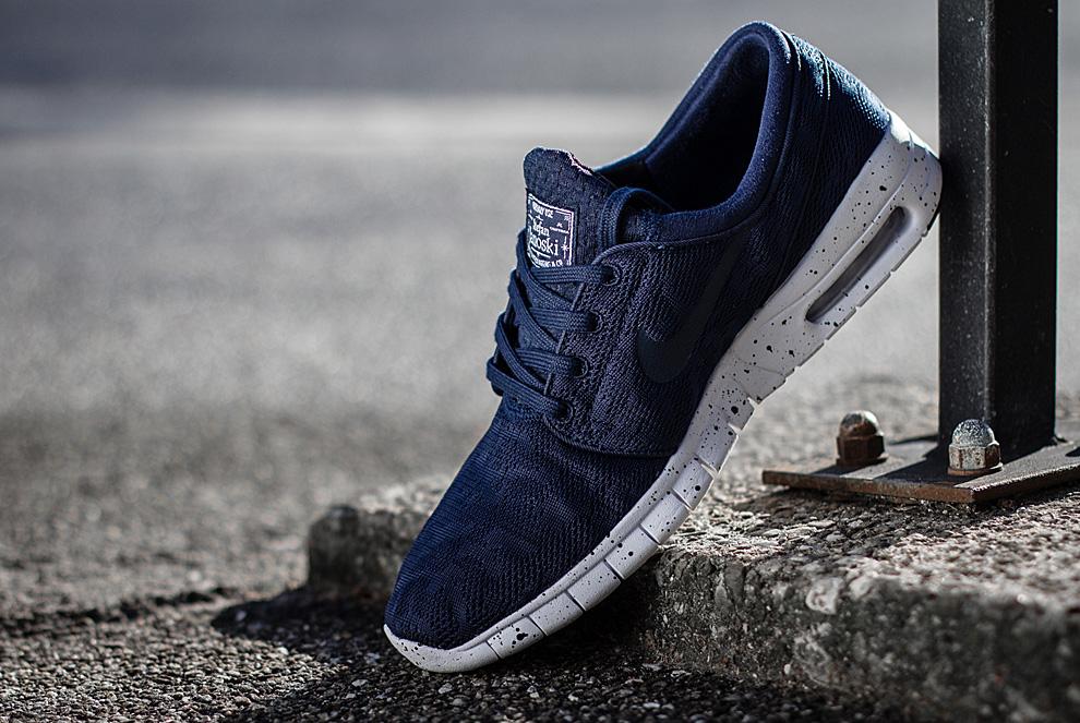 Nike SB Stefan Janoski Max Midnight Navy 1