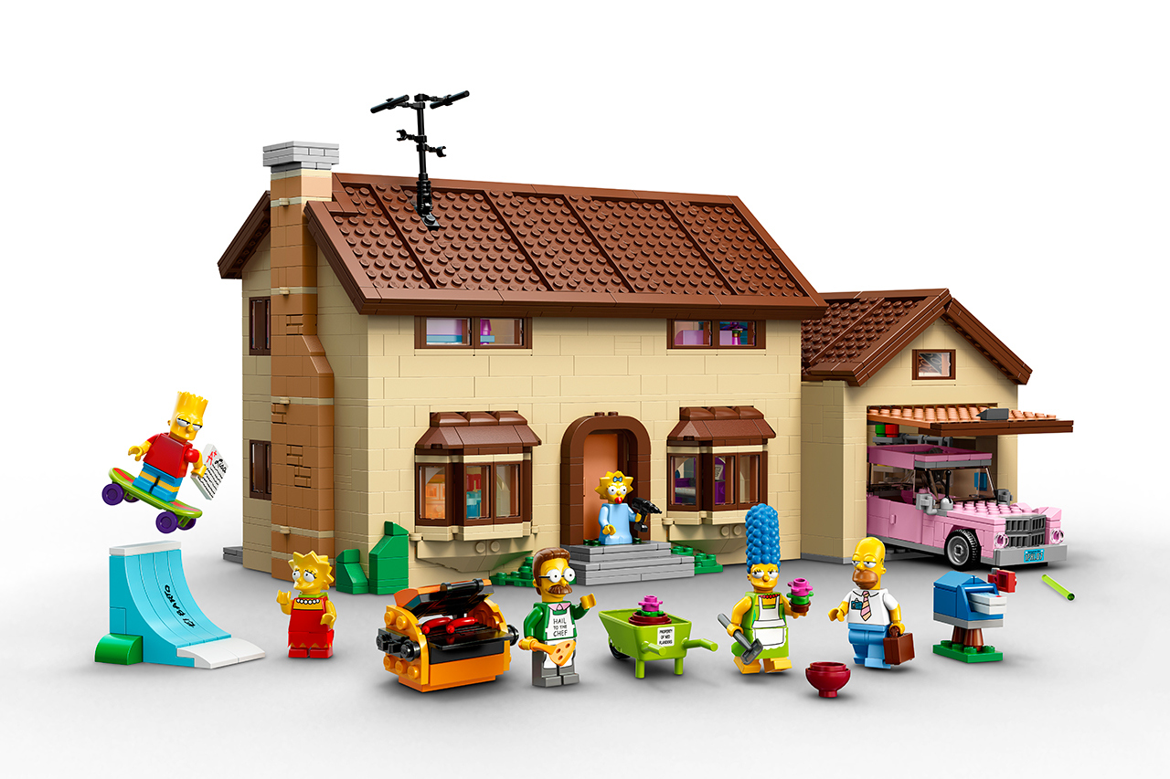 The Simpsons x Lego The Simpsons House 1