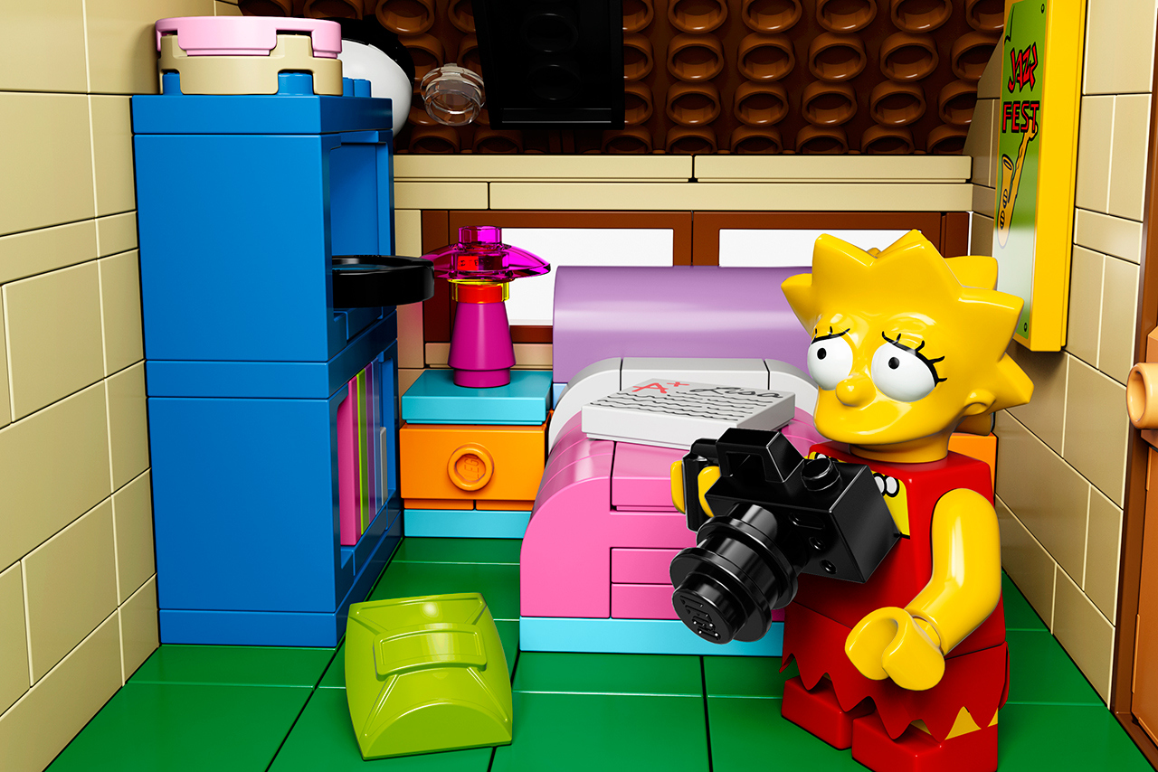 The Simpsons x Lego The Simpsons House 10