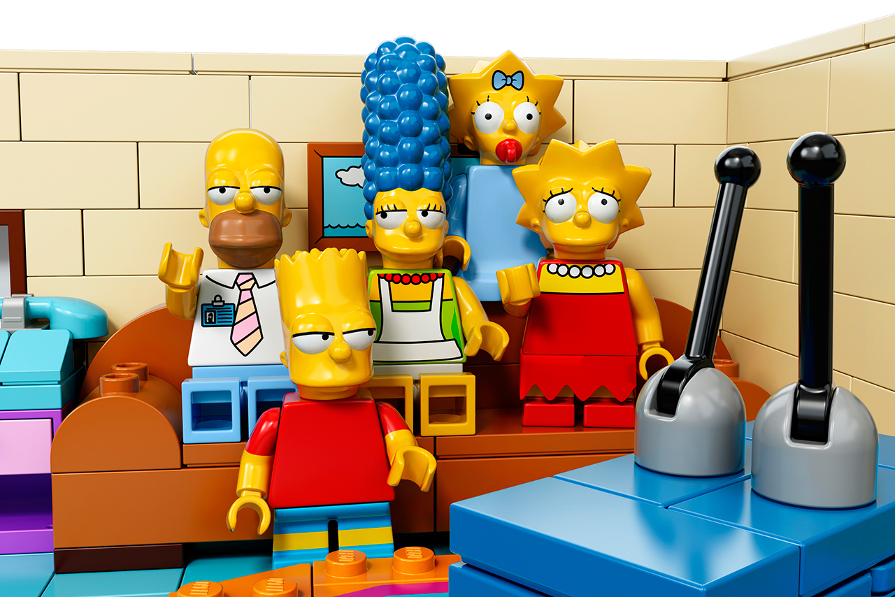 The Simpsons x Lego The Simpsons House 13
