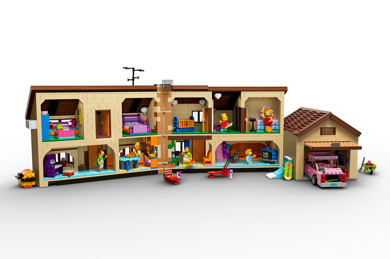 The Simpsons x Lego The Simpsons House 2