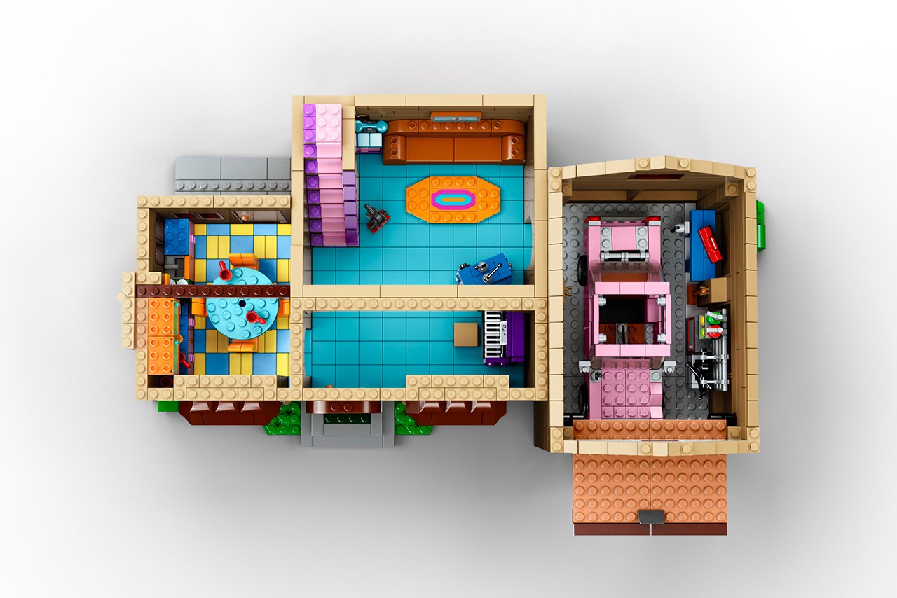 The Simpsons x Lego The Simpsons House 3
