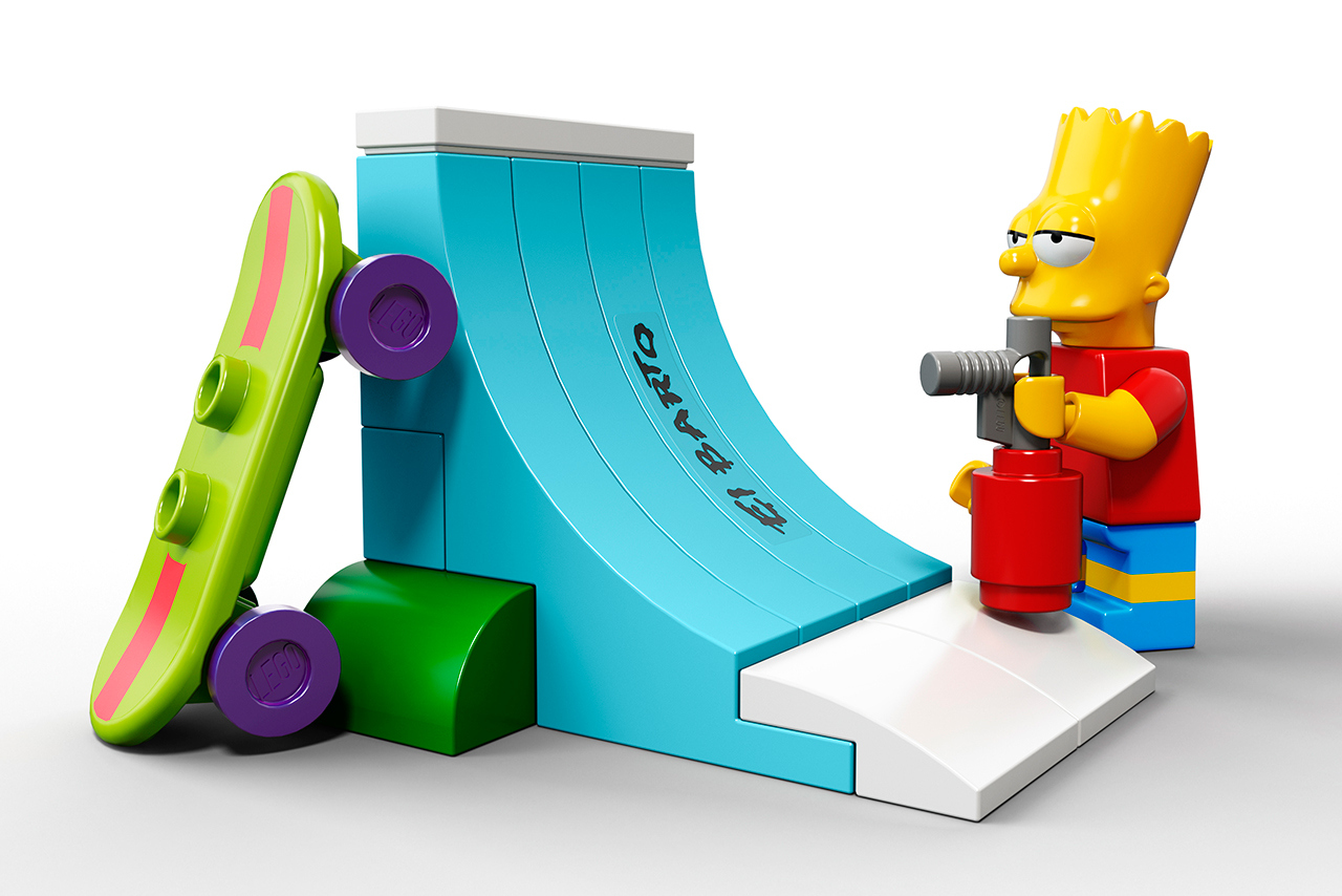 The Simpsons x Lego The Simpsons House 5